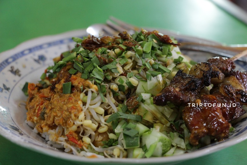 tampilan nasi lengko haji barno