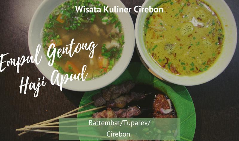 empal gentong haji apud cirebon