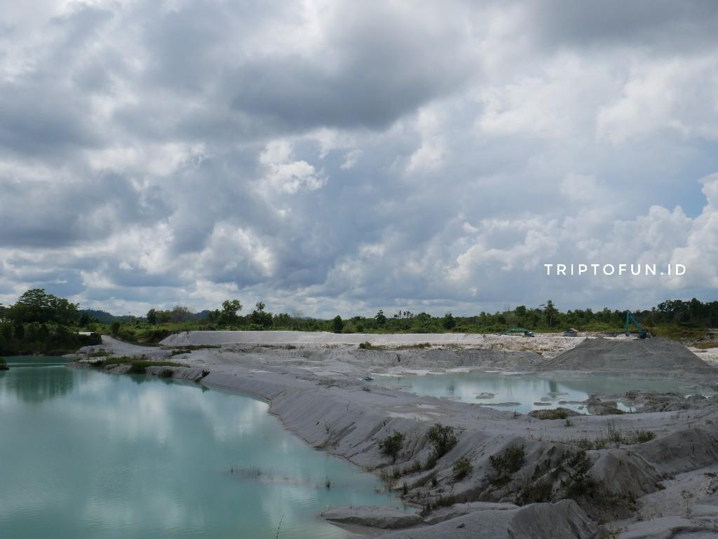 obyek wisata danau kaolin