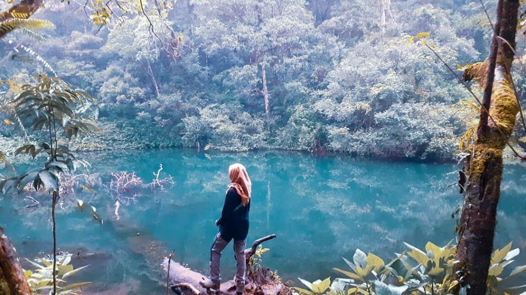 wisata taman nasional gunung gede pangrango telaga biru