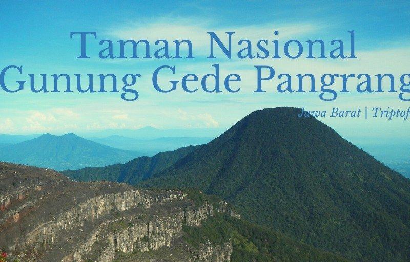 taman nasional gunung gede pangrango jawa barat