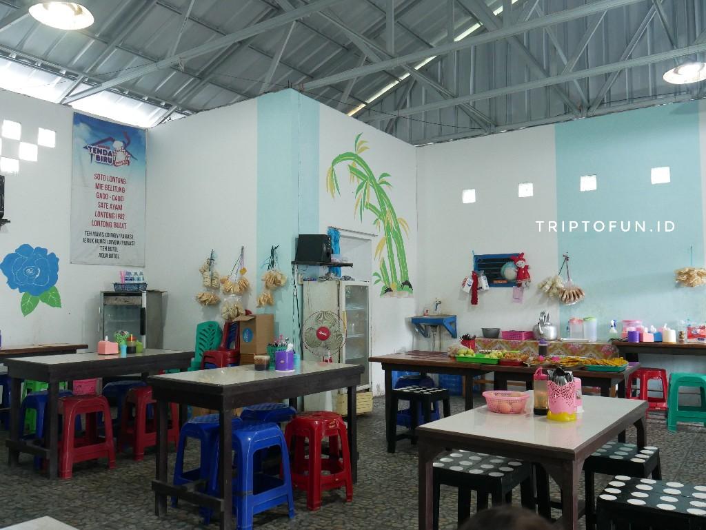 warung tenda biru di tanjung pandan