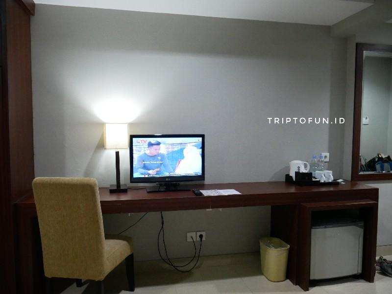 fasilitas kamar hotel grand hatika belitung