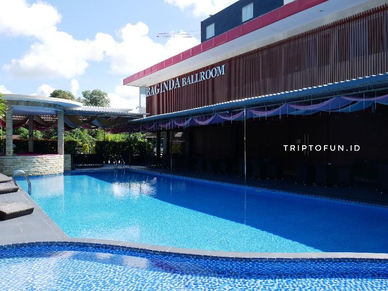 kolam renang hotel grand hatika belitung