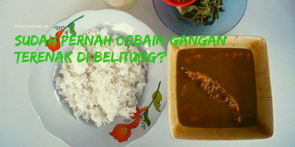 rumah makan sari gangan khas belitung