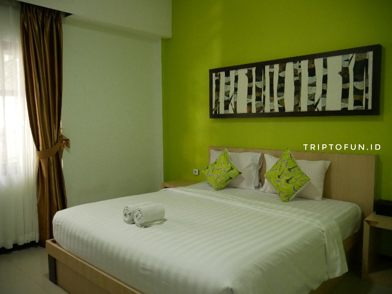 Kamar superior hotel green tropical