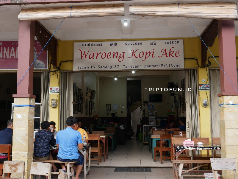 lokasi warung kopi ake