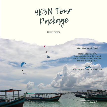 paket tour belitung 4 hari 3 malam