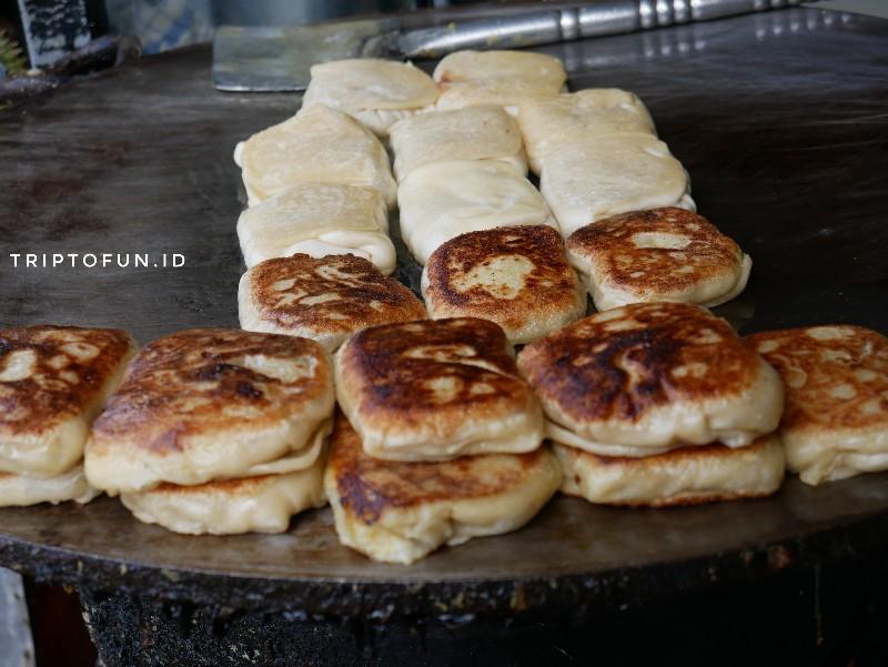 roti martabak durian khas aceh