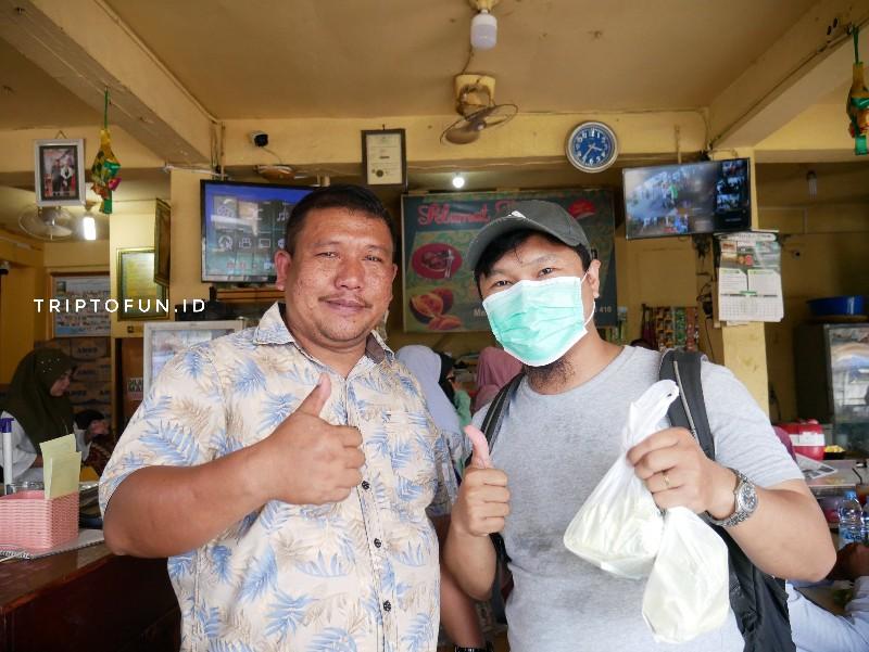 pemilik kedai martabak durian samudera pasee