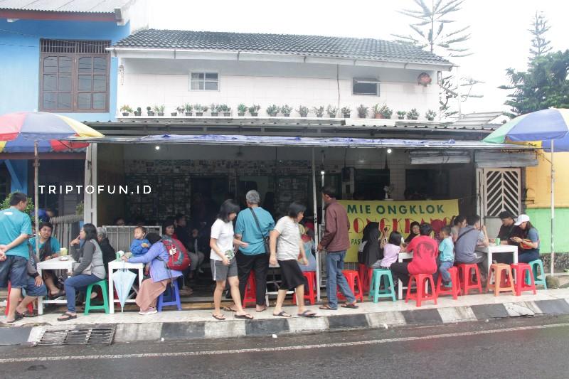 lokasi mie ongklok longkrang