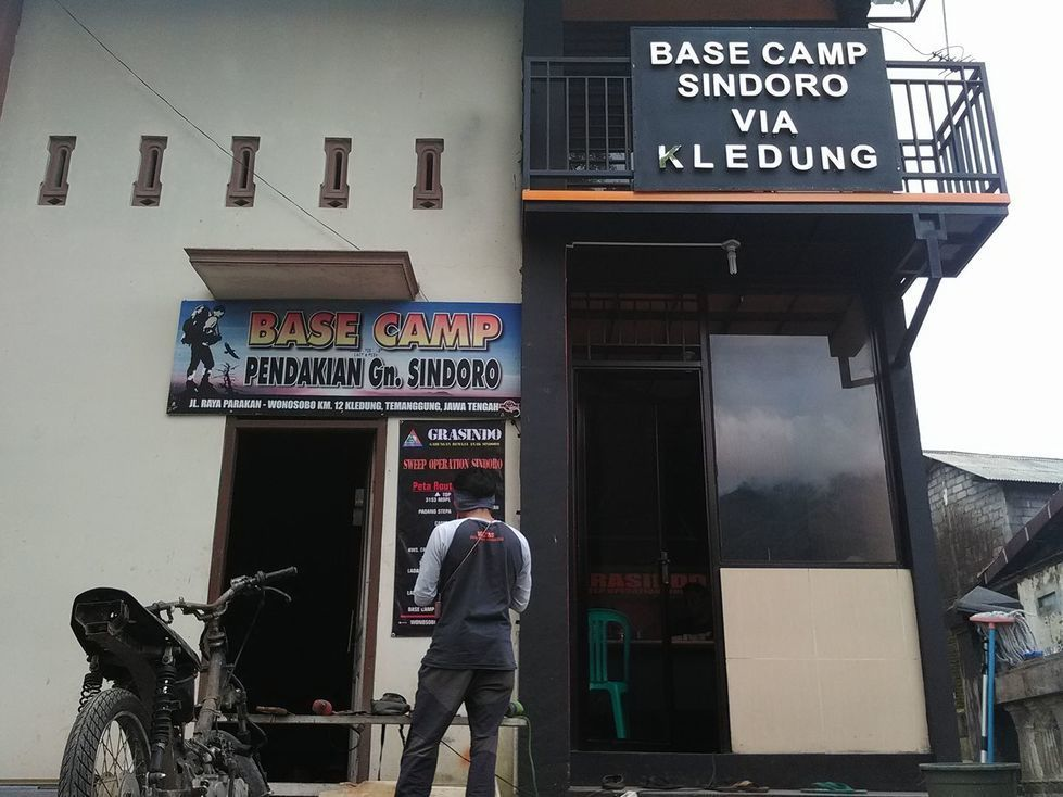 basecamp kledung gunung sindoro