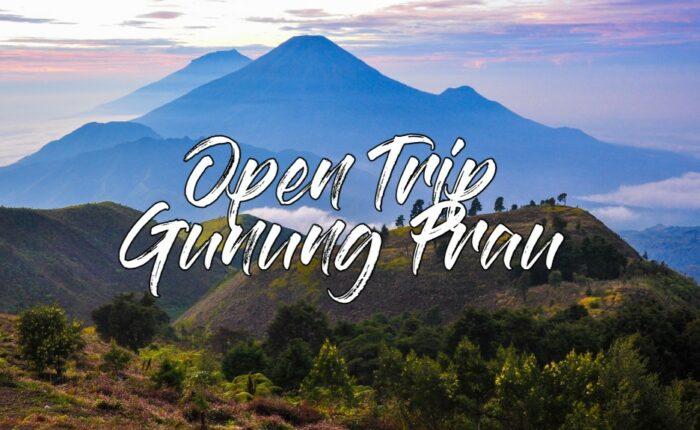 open trip gunung prau terbaik