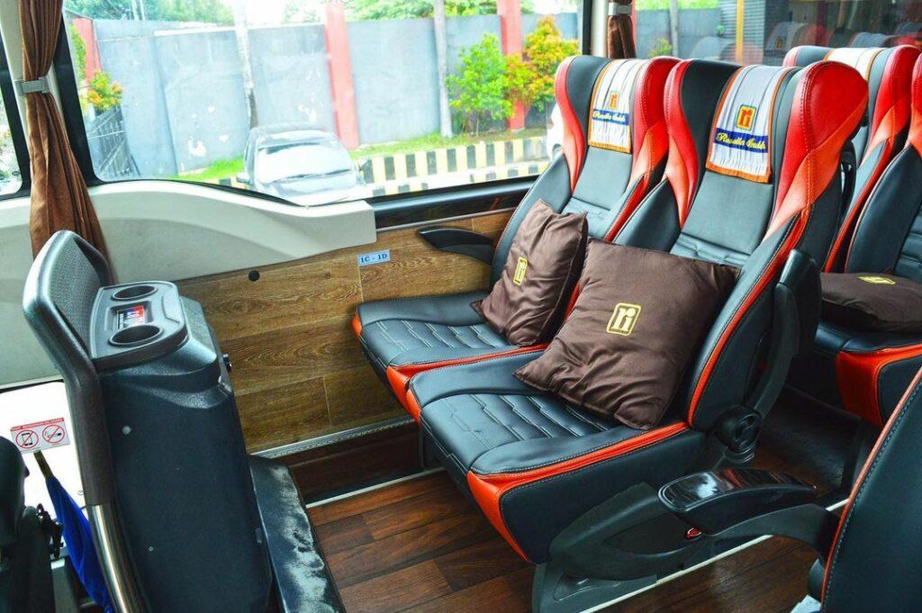 seat bus rosalia indah